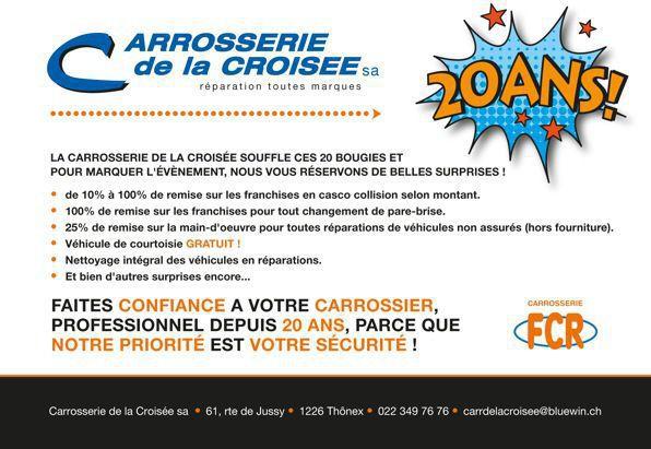 Carrosserie de la Croisée - Carrosserie Thônex - GE 1226
