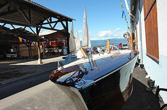 Chantier Naval de Corsier-Port SA  - Construction et commerce de Bateaux Corsier - GE 1246