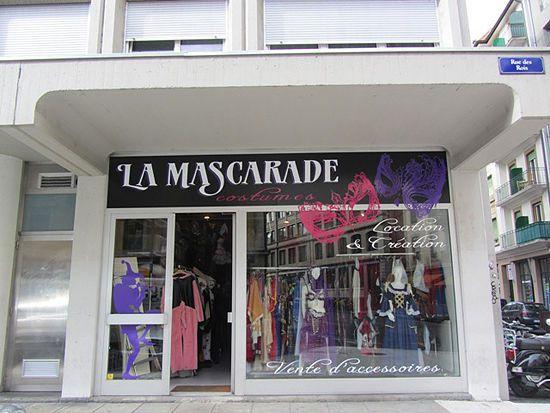La Mascarade - Location de Costume et vêtement Genève - GE 1204