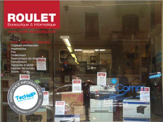 Roulet bureautique-informatique - Bureautique Genève - GE 1207