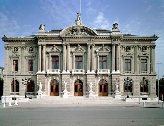 Opéra Grand Théâtre de Genève - Théâtre Genève - GE 1204